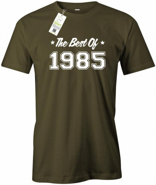 The best of 1985 - Geburtstag - Herren T-Shirt