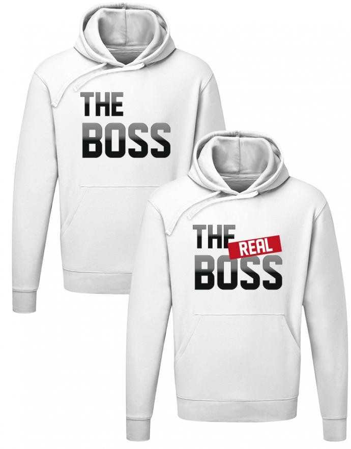 The Boss - The Real Boss Couple Partner Hoodie Set