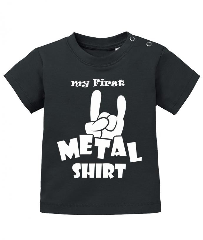 my first Metal Shirt - Baby T-Shirt